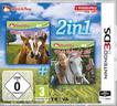2in1: Mein Fohlen 3D + Mein Reiterhof 3D - Rivalen im Sattel (Nintendo 3DS)
