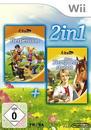 2in1: Meine Tierpension & Meine Tiersprechstunde (Software Pyramide) (Nintendo WII)