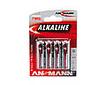 Alkaline-Batterie Mignon AA LR6 1,5V 4er-Blister