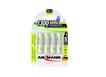 Akku Mignon AA 1300mAh maxE Batterien 4er Blister