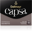 Capsa Espresso Ristretto Kaffeekapseln vollmundig-intensiv Intensität: 10