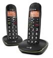 PhoneEasy 100w Duo schnurloses DECT-Telefon zusätzliches Mobilteil