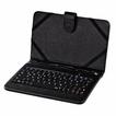 """00050467 Tablet-Tasche mit Tastatur """"OTG"""" Android Displaygröße bis 7"""""""