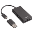 00054141 USB-2.0-OTG-Hub/Kartenleser für Smartphone/Tablet/Notebook/PC