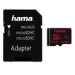 00123980 microSDHC 16GB UHS Speed Class 3 UHS-I 80MB/s + Adapter/Foto