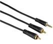 00122301 Audio-Kabel 3,5-mm-Klinken - 2 Cinch-Stecker Stereo verg. 10,0