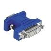 00045074 VGA-DVI-Adapter VGA-Stecker - DVI-Kupplung vergoldet geschirmt