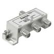 00044124 Breitband-Kabelverteiler 3-fach voll geschirmt