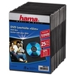 00051182 DVD-Leerhülle Slim 25er-Pack