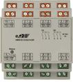 RS485 I/O-Modul, 12 Eingänge, 14 Ausgänge, Hutschienenmontage