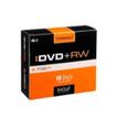 DVD+RW Rohlinge 4,7GB 10er Slimcase 4x wiederbeschreibbar