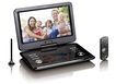 DVP-1273 portabler DVD-Player 29cm/11,6'' DVB-T2 HD USB SD 12V