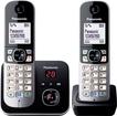 KX-TG6822GB Schnurlostelefon mit Anrufbeantworter 30min