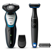 S5070/92 Aqua Touch Series 5000 Herrenrasierer + gratis Bodygroom