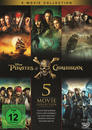 Pirates of the Caribbean 1 - 5 DVD-Box (DVD)