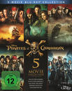 Pirates of the Caribbean 1 - 5 Bluray Box (BLU-RAY)