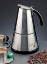 EKO 366/E El Presso deluxe Espressokocher 3-6 Tassen