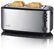 AT 2509 Langschlitz-Toaster für bis zu 4 Brotscheiben 1400W