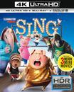 Sing (4K Ultra HD BLU-RAY + BLU-RAY)
