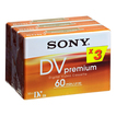 DVM-60 Colormix 3er-Pack Mini DV Video-Kassette 60min