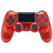 DualSchock 4 Wireless-Controller Red Crystal