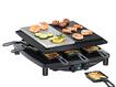 RC 4 plus deluxe Raclette-Grill 1450W 8 Pfännchen Gourmet-Guss-Pfanne