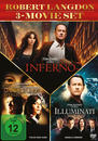 The Da Vinci Code - Sakrileg, Illuminati, Inferno DVD-Box (DVD)