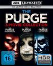 The Purge - Die Säuberung / The Purge: Anarchy / The Purge: Election Year (4K Ultra HD BLU-RAY + BLU-RAY)