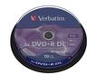 DVD+R Rohlinge Double Layer 8,5GB 10er-Pack 8x Matt Silber