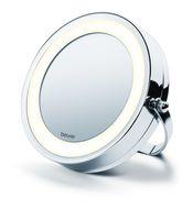 Beurer BS 59 2in1 Kosmetikspiegel Normal/5-fach Vergrößerung LED-Licht für 49,46 Euro