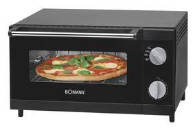 Bomann MPO2246CB Pizza-Ofen 1000W 4-Stufenschaltung Krümelschublade für 45,96 Euro