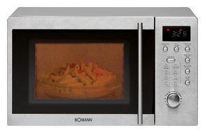 Bomann MWG2211U CB Mikrowelle 800 W Größe: klein 5 Stufen Grill für 105,96 Euro