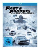 Fast & Furious - 8 Movie Collection BLU-RAY Box (BLU-RAY) für 27,46 Euro