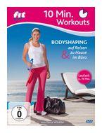 Fit For Fun - 10 Min. Workouts - Bodyshaping zu Hause, unterwegs & im Büro (DVD) für 17,46 Euro