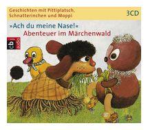Geschichten mit Pittiplatsch, Schnatterinchen und Moppi: Ach du meine Nase! (CD(s)) für 17,96 Euro