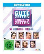 Gute Zeiten, schlechte Zeiten: Wie alles begann - Box 1 & 2, Folgen 01 - 100 (BLU-RAY) für 24,96 Euro
