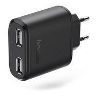 "Hama 00123546 2-fach-USB-Ladeadapter ""Auto-Detect"" für Tablet-PCs 5V/4,8A für 20,96 Euro"