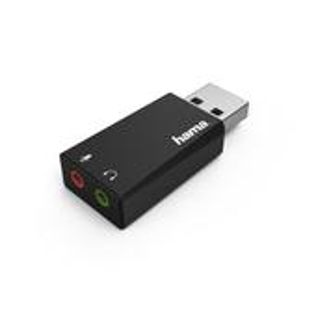 "Hama 00051660 USB-Soundkarte ""Stereo"" für 15,96 Euro"