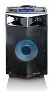 Lenco PMX-240 DJ-Mixer mit LED-Lichteffekte 150W FM-Radio Bluetooth USB Aux-IN für 181,96 Euro