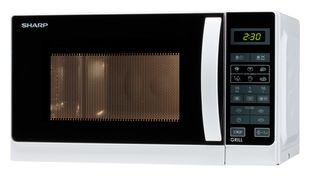 Sharp Home Appliences R-642WW Mikrowelle 800 W Größe: klein Grill für 77,96 Euro