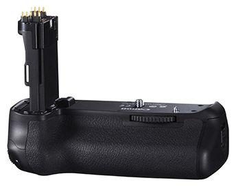 BG-E14 Akkugriff kompatibel mit LP-E6 un LP-E6N Akkus