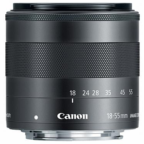 EF-M 18-55mm f/3.5-5.6 IS STM Zoomobjektiv