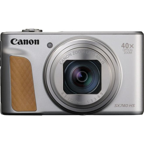 PowerShot SX740 HS 21 MP  Kompaktkamera 40x Opt. Zoom (Silber)