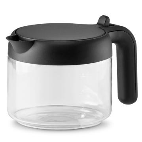 DLSC021 Kaffeekanne aus Glas mit klappbarem Kunststoffdeckel 750ml