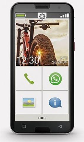 Smart.5 4G Smartphone 14 cm (5.5 Zoll) 32 GB 1,8 GHz Android 12 MP Dreifach Kamera Single SIM (Schwarz)