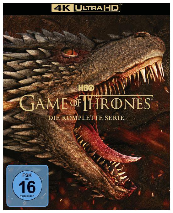 Game of Thrones - Die komplette Serie (4K Ultra HD BLU-RAY)