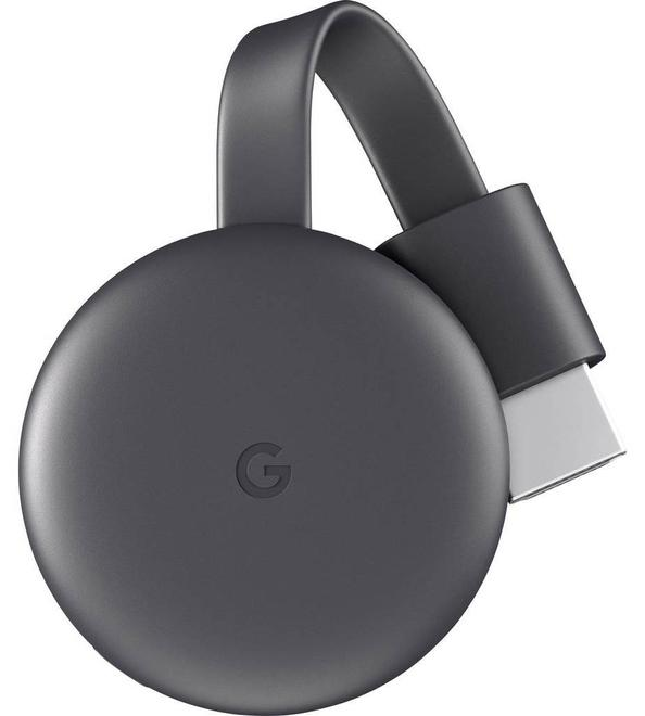Chromecast 3 Streaming Player 1080p HDMI WLAN schwarz
