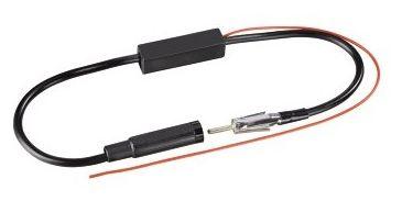 00107267 Antennenverstärker AM/FM DIN-Stecker - DIN-Kupplung universal