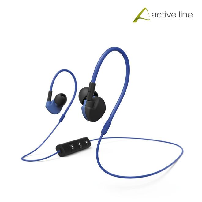 177096 Active BT Over Ear Bluetooth Kopfhörer Kabellos