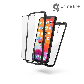 Cover Magnetic+Glas+Displayglas Handyhülle für Apple iPhone 11
